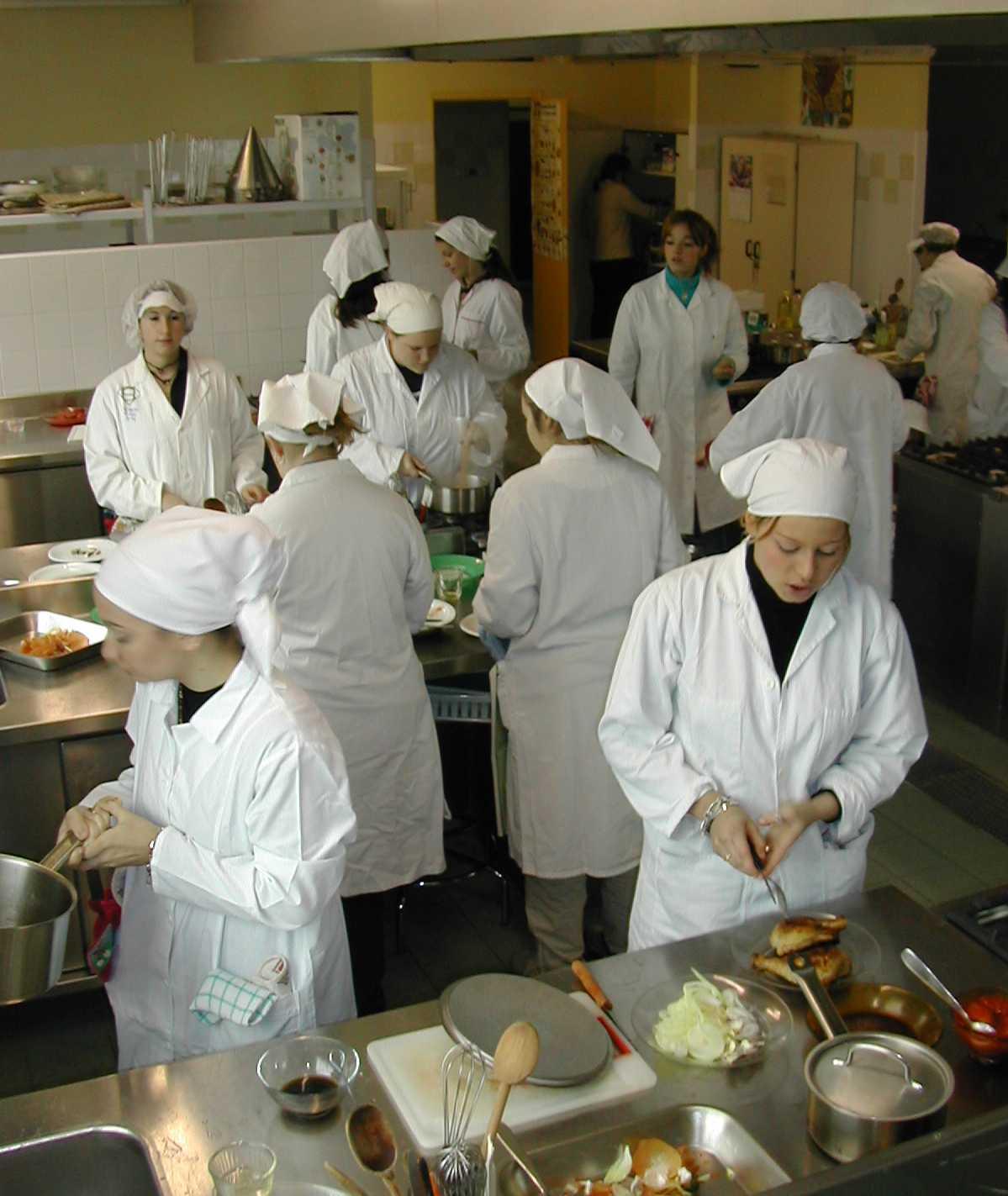 Cours de cuisine - Aide cuisine collectivite ...